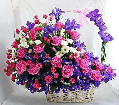 Цвети и поздравления с днем рождения
